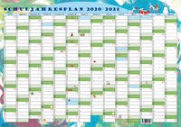 GSV Wandkalender - Schuljahresplan 2020/2021