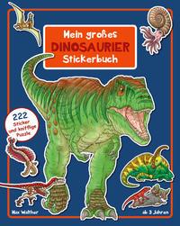 Mein großes Dinosaurier Stickerbuch