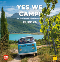 Cover: Christian Haas Yes we camp!  - die schönsten Campingziele in Europa