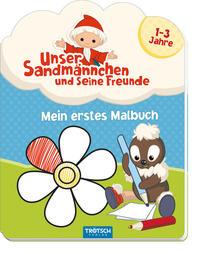 Mein erstes Malbuch 'Unser Sandmännchen und seine Freunde'