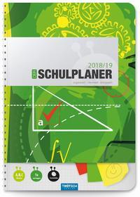 Schulplaner Grün 2018/2019 - Schülerplaner, Schülerkalender