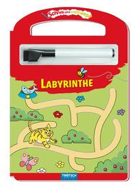 Trötsch Schreib und Wisch Weg Labyrinthe mit Stift