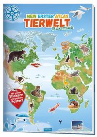 Stickerbuch Mein 1. Atlas Tierwelt