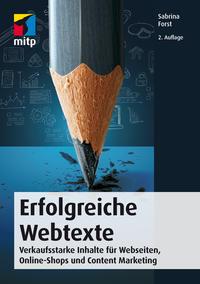 Cover: Sabrina Forst Erfolgreiche Webtexte