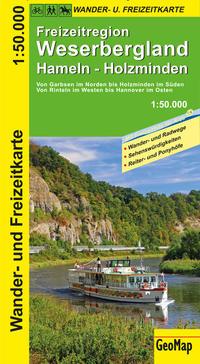 Freizeitregion Weserbergland Wander- und Freizeitkarte