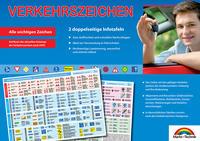 Verkehrszeichen - Aktuelle Übersicht für den Führerschein der wichtigsten Verkehrszeichen, Gefahrenzeichen etc. im Straßenverkehr - ideal zur theoretischen Führerscheinprüfung