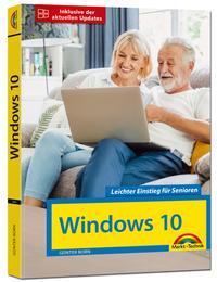 Cover: Günter Born Windows 10 - leichter Einstieg für Senioren
