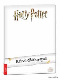 Harry Potter - Rätsel-Stickerspaß