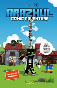 Arazhul-Comic-Adventure - Wie ich die Welt rettete und gleichzeitig eine 3- im Vokabeltest schrieb