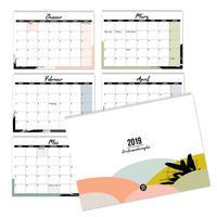 Mehrseitiger Design Wandkalender A4 quer (2019)