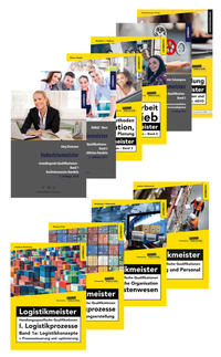 Bücherbundle Logistikmeister Grundlegende und handlungsspezifische Qualifikationen