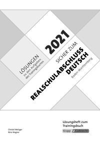 Sicher zum Realschulabschluss Deutsch Baden-Württemberg 2021