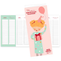 'Miss Happy Girl' Geburtstagskalender