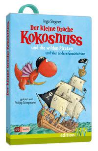 Der kleine Drache Kokosnuss und die wilden Piraten - Cover