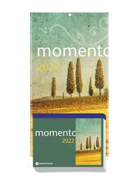 momento 2022 - Abreißkalender mit Rückwand und Aufstellfuß