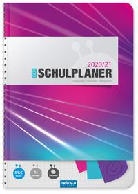 Trötsch Schulplaner 'Pink' 2020/2021