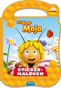 Die Biene Maja Stickermalbuch mit Henkel