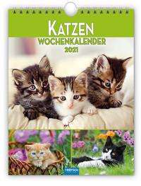 Wochenkalender 'Katzen' 2021