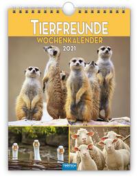 Wochenkalender 'Tierfreunde' 2021