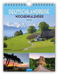 Wochenkalender 'Deutschland Reise' 2021