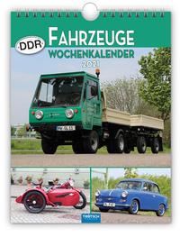 Wochenkalender ' DDR-Fahrzeuge' 2021