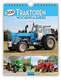 Wochenkalender ' DDR-Traktoren' 2021