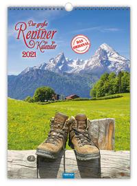Großbildkalender 'Der große Rentnerkalender' 2021