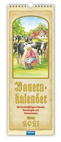 Maxi-Streifenkalender 'Bauernkalender' 2021