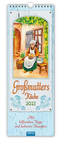Maxi-Streifenkalender 'Grossmutter's Küche' 2021