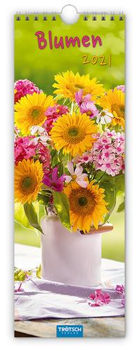 Streifenkalender 'Blumen' 2021