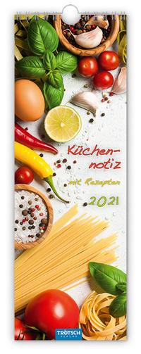 Streifenkalender 'Küchennotiz' 2021