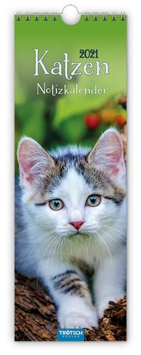 Notizkalender 'Katzen' 2021