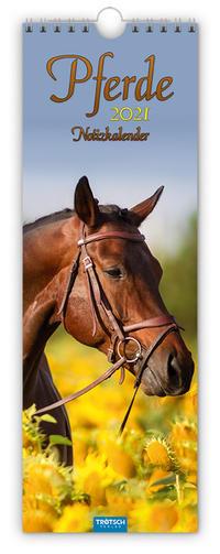 Streifenkalender 'Pferde' 2021