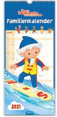 Familienkalender 'Unser Sandmännchen' 2021