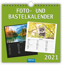Foto- und Bastelkalender medium 2021
