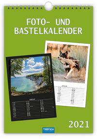 Foto- und Bastelkalender A4 2021