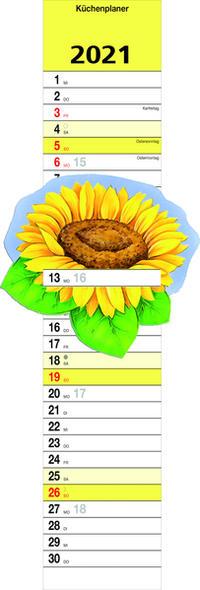 Küchenplaner 'Sonnenblume' 2021