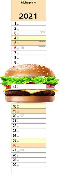 Küchenplaner 'Burger' 2021