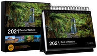 Tischkalender Best of Nature 2021