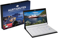 Hurtigruten Tischkalender 2021