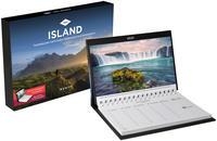 Island Tischkalender 2021