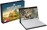 Wilde Alpen Tischkalender 2021