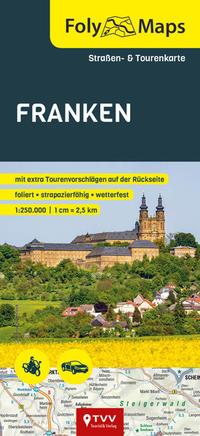 FolyMaps Karte Franken 1:250 000