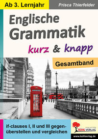 Englische Grammatik kurz & knapp / Gesamtband