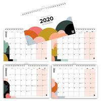 Mehrseitiger Design Wandkalender A4 quer (2020)