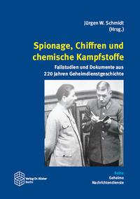Spionage, Chiffren und chemische Kampfstoffe - Cover
