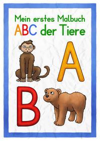 Das ABC der Tiere - Malbuch