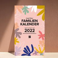 Familienwandkalender 2022 'Good Vibes!'