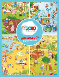 Bobo Siebenschläfer Wimmelbuch - Durch das Jahr mit Bobo Siebenschläfer