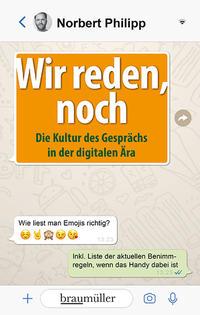 Cover: Norbert Philipp Wir reden, noch